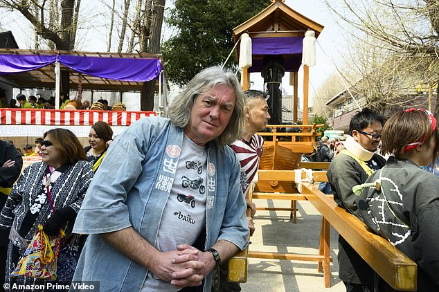 Immersive: James also attended the Kanamara Matsuri in Kawasaki, a fertility festival which has in recent years also become synonymous with the phallic-shaped items on display