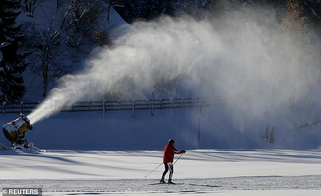 One resort in the Swiss Alps reported a 40 percent decline in snow depth since 1988