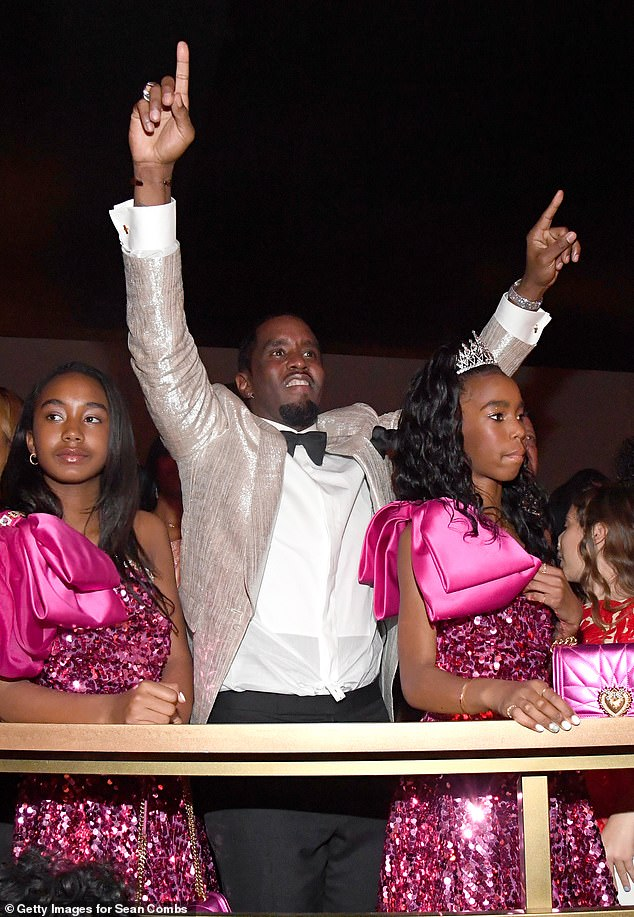 Delayed: Diddy, real name Sean Combs, actually hit the landmark on November fourth but decided to mark the occasion on Saturday night