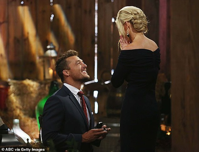 Final rose: During his run as The Bachelor, he got down on one knee and proposed to Whitney Bischoff, a fertility nurse from Chicago