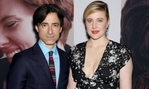 Baumbach with his partner, actor and director Greta Gerwig, at the New York premiere of Marriage Story last month.