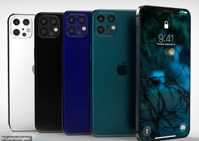 Concept Creator created renders of the iPhone 12 Pro and Pro Max models forLetsGoDigital, based on 'known information'