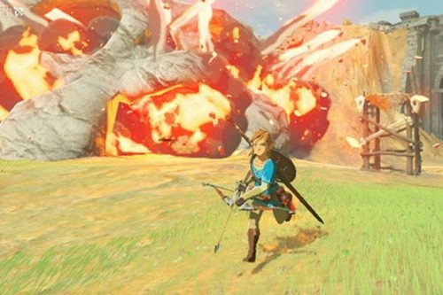 All action in Breath of the Wild