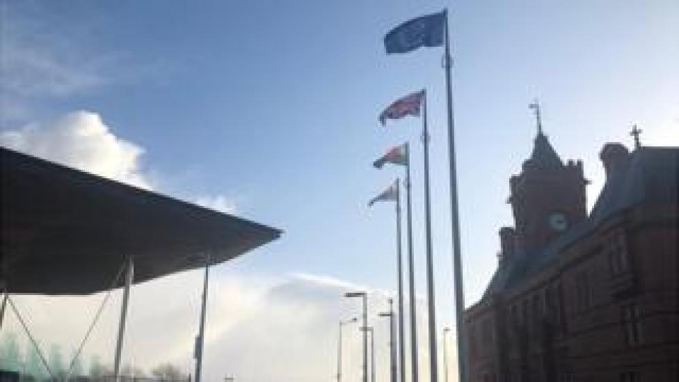 National Assembly flags