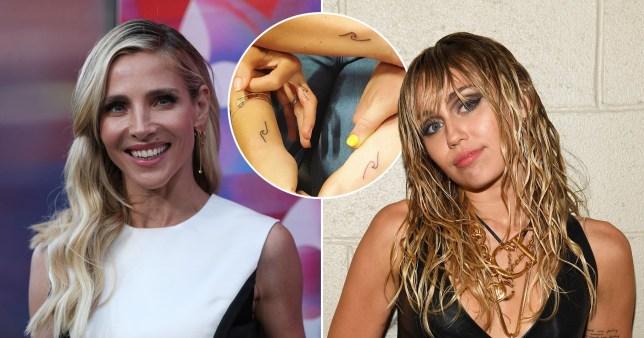 Elsa Pataky and Miley Cyrus have matching tattoos