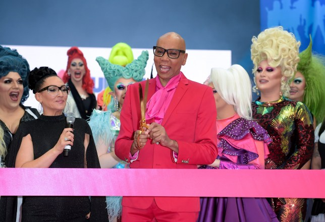 LONDON, ENGLAND - JANUARY 18: RuPaul Charles officially opens the first ever RuPaul's DragCon UK presented by World Of Wonder at Olympia London on January 18, 2020 in London, England. (Photo by David M. Benett/Dave Benett/Getty Images for World Of Wonder Productions)