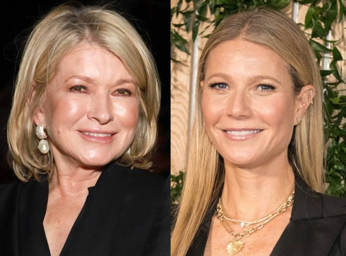 Martha Stewart, Gwyneth Paltrow