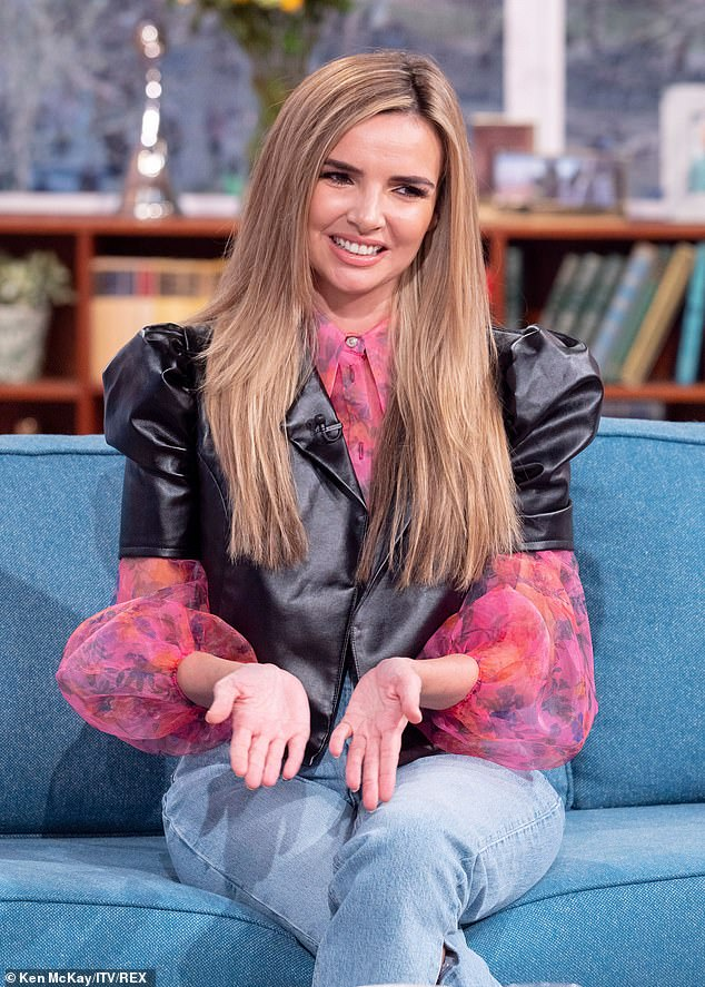 It's not me: Nadine Coyle DENIED she was Queen Bee on The Masked Singer during an appearance on Fridays This Morning