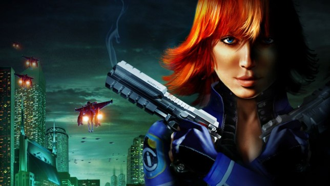 Perfect Dark Zero key art