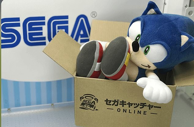 Sega Catcher app lets users control a claw machine in Japan. Prizes, or at least on per week, are delivered to their doorstep for free