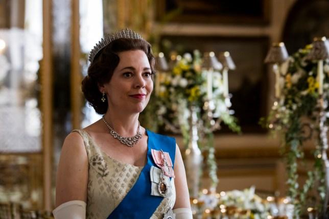 THE CROWN - SEASON 3 NETFLIX Television programme, 'The Crown', TX Netflix Olivia Colman as Queen Elizabeth II. Credit Netflix