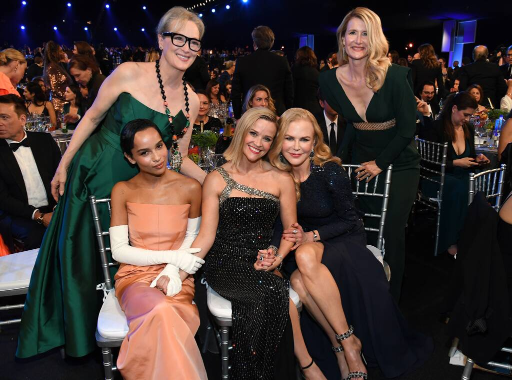 Big Little Lies Cast, 2020 Screen Actors Guild Awards, SAG Awards, Reunions