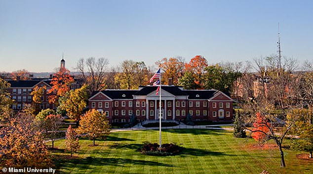 Two students at Miami University in Ohio (pictured) are suspected of having coronavirus and have had blood draws, nasal swabs and respiratory samples sent to the CDC for testing.