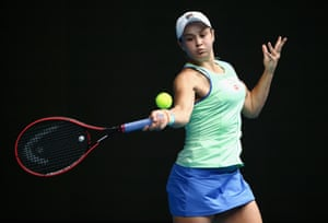 The French Open champion and the world No 1 women's tennis player Ashleigh Barty
