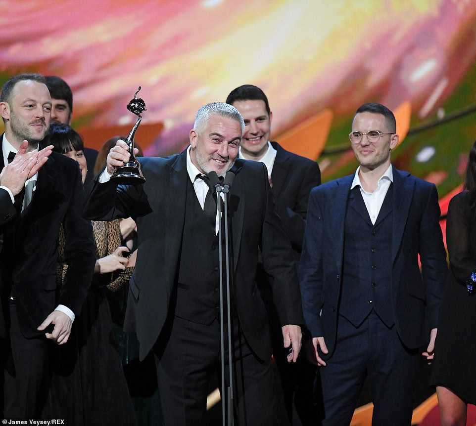 Winning! The award was accepted by Paul Hollywood, who noted that it meant a lot being the show's 10th year
