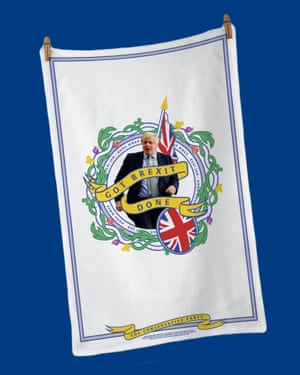 The official Got Brexit Done 2020 tea towel costs £12