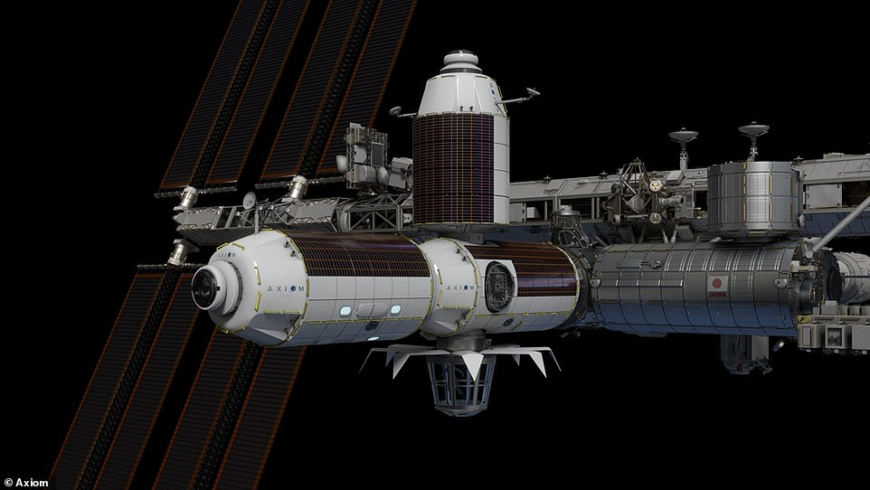 The Axiom Segment will be assembled abroad the International Space Station and then detached as a free-flying independent holiday home for space tourists with at least $35,000 to spare