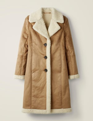 Bell Teddy Lined Coat, £99, Boden
