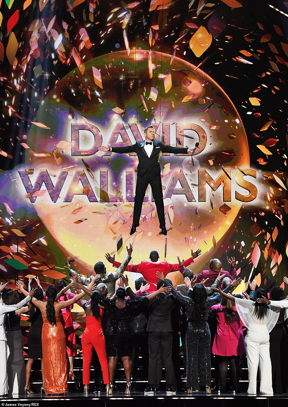 The Walliams Show!David has taken over as host of the National Television Awards this year, and made sure to make a typically-outrageous first impression