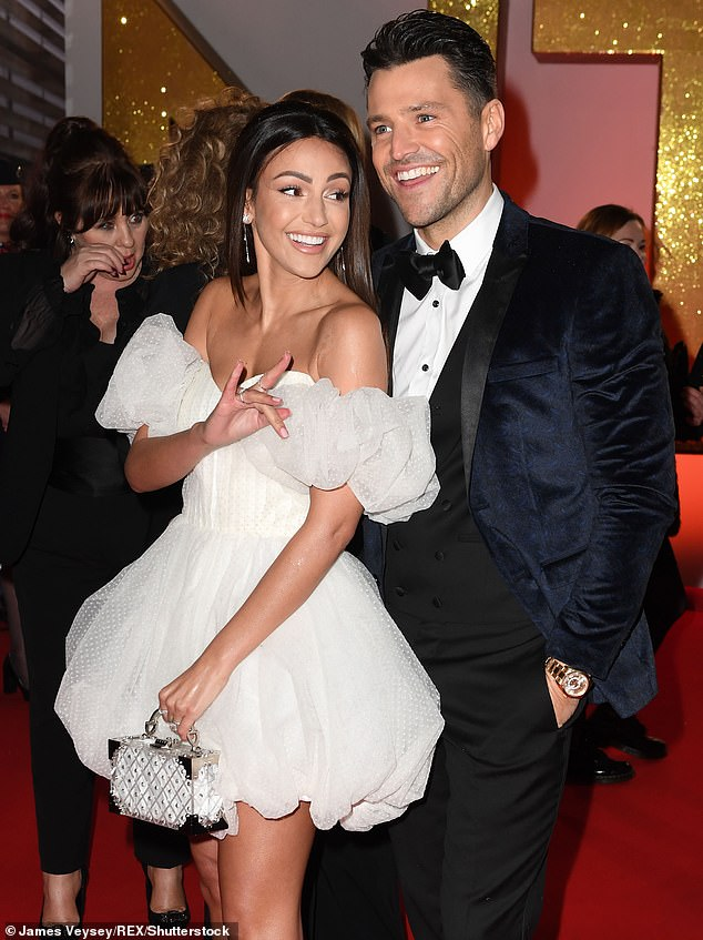 Family first:The actress plans to leave in order to spend more time in the UK. Her husband Mark Wright recently moved back to the UK from Los Angeles where he was working on US TV