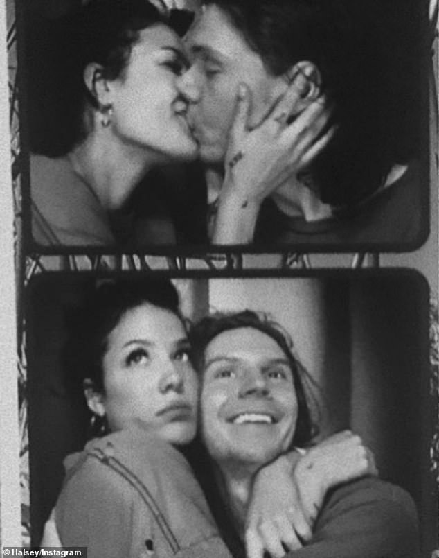 'I can't imagine a world without you in it!' Halsey wished her boyfriend since September (X-Men: Dark Phoenix star, American Horror Story) - a happy 33rd birthday on Monday