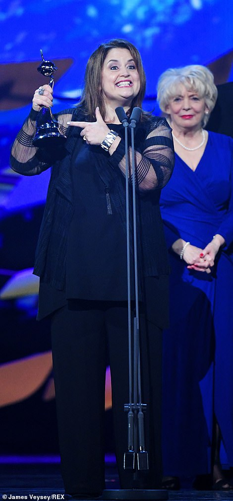 Comedy: Ruth Jones took home the Impact Award for Gavin & Stacey
