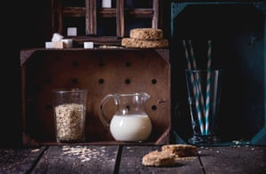 Oat milk 'performs very well on all sustainability metrics'.