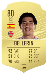 Bellerin-fut-base-card