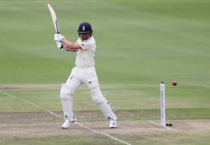 England's Sam Curran hits out.