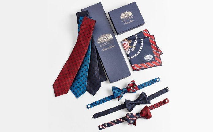 Brooks Brothers debuts White House Historical Association collection