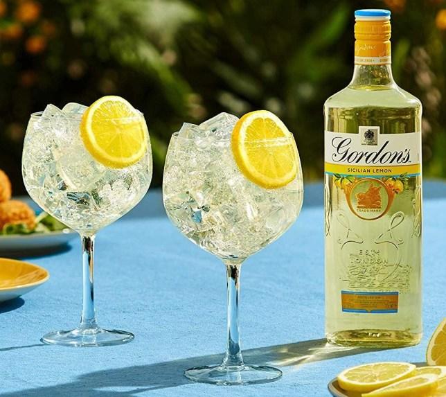 Gordans new lemon gin