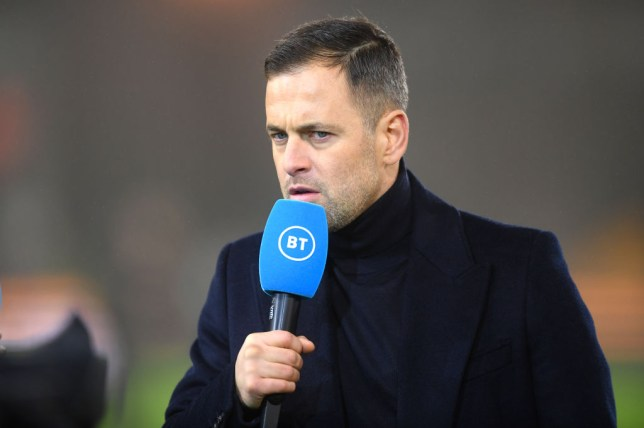 Former Chelsea midfielder Joe Cole speaks to BT Sport
