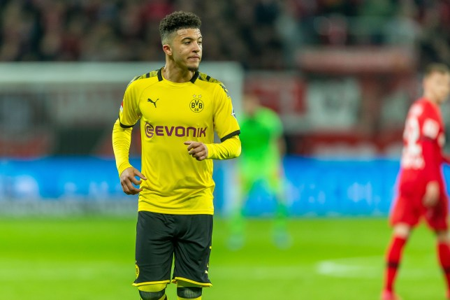 Manchester United are reportedly preparing to pay £100m for Jadon Sancho