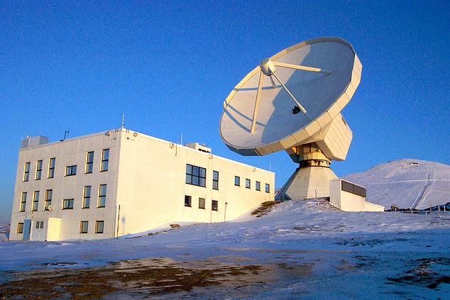 Light wave readings taken at the IRAM 30-meter telescope in Granada, Spain (pictured above) helped scientists detect signatures of molecular oxygen in the Markarian 231 galaxy, the first time the compound has been detected outside the Milky Way