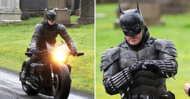 The Batman filming
