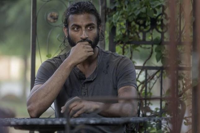 Avi Nash as Siddiq in The Walking Dead