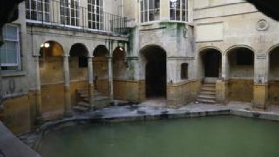 The Roman Baths in Bath