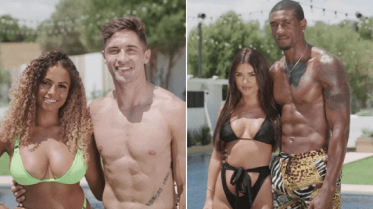 Amber and Greg, India and Ovie Love Island 2019