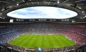 The Allianz Arena.