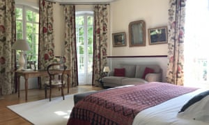 Bedroom at Villa le Chatelet