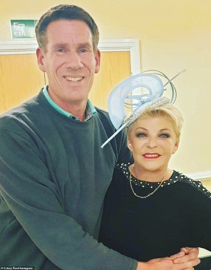 'Terrified': Crissy and husband Julian boarded the ship in Dubai on January 31 and won't be allowed to leave the Queen Mary 2 until it docks in Australia on February 18