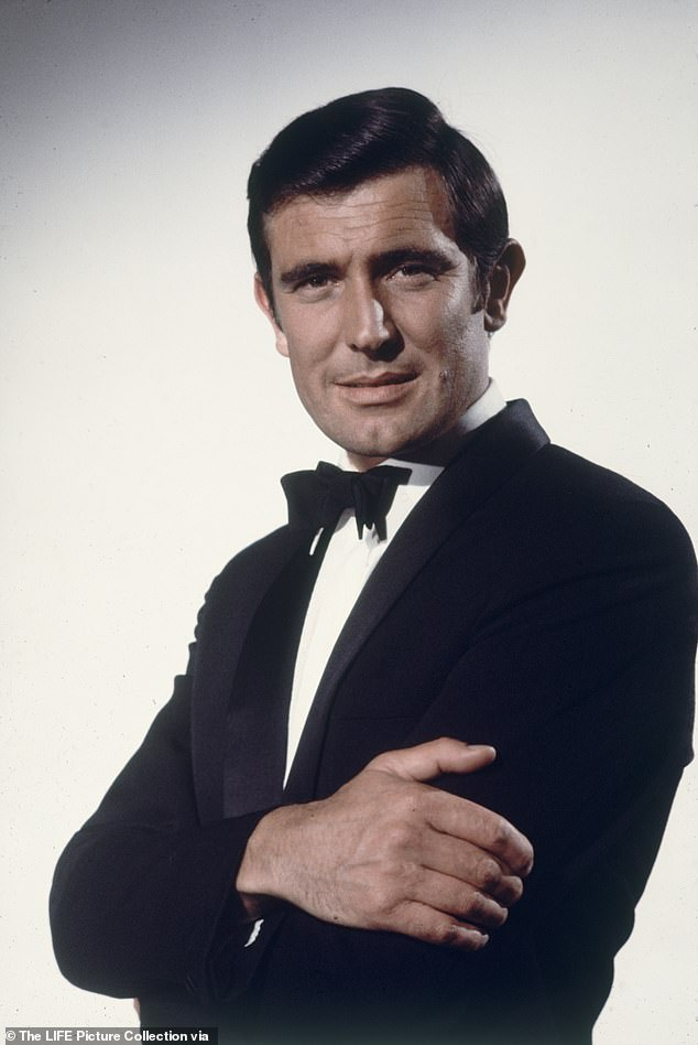 Handsome:The Australian-born star was a car salesman and a model before he landed the iconic film role