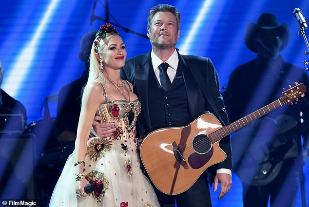 Last gig: Stefani last hit the stage at the Grammys this past Sunday when she performed the duet, Nobody But You, with boyfriend Blake Shelton