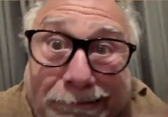Danny DeVito encourages people to self-isolate