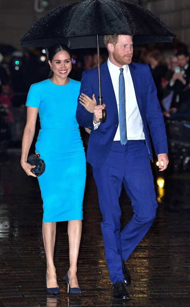 Meghan Markle, Duchess of Sussex, Prince Harry, 2020 Endeavour Fund Awards