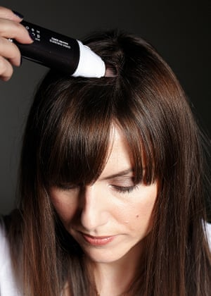 Try a root disguiser to touch up your hair colour, Sali Hughes suggests.