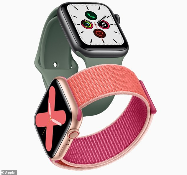 Apple could add Touch ID to its Apple Watch (stock), eliminating the need to type in a passcode. A new report suggests the tech giant could add fingerprint biometrics to either the digital crown or under the screen