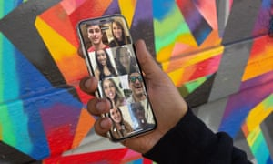 The Houseparty app – a conversation with eight people.