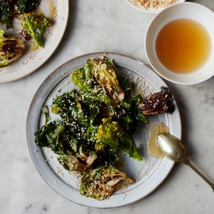 Anna Jones Easter greens with sesame and honey