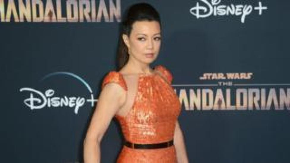 Ming-Na Wen arrives for the premiere of Disney+'s The Mandalorian